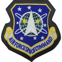 GENUINE U.S. AIR FORCE PATCH: AIR FORCE SPACE COMMAND - LEATHER