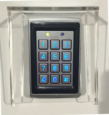 Gate Opener Keypad with Card Reader and weatherproof Shroud