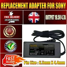 SONY VAIO VPC-S137GX/S LAPTOP 90W 19.5V REPLACEMENT AC ADAPTER POWER SUPPLY