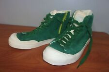 Vintage Nike Suede Leather Side Zip High Top Sneakers Shoes 11