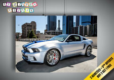 Poster FORD MUSTANG SHELBY HERO NEED FOR SPEED