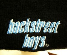 BACKSTREET BOYS knit beanie hat Nick Carter 1990s boy-band winter stocking cap