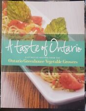 Vg only1eBay:A Taste of Ontario:Distinctive Recipes:Greenhouse Vegetable Growers