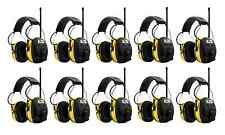 (10) PELTOR WORKTUNES Digital AM FM MP3 Radio HEADPHONES Hearing Ear PROTECTION
