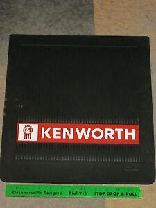 "KENWORTH LOGO SPLASH GUARD MUDFLAPS 14"" x 16""- BUY AS MANY AS YOU NEED"