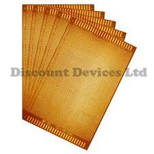 5x  120x180mm Bakelite 1.2mm Single Side Copper Prototype PCB Matrix Board