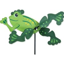"""Frog 13"""" Staked Wind Whirl Wing Whirligig..13.... PR 21876"""