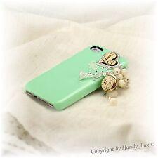 IPhone 4 4s Hard Case Housse/étui de protection Cover Chaîne Diamant Coeur tour eiffel vert