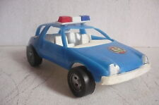 Mexican City Police - AMC Pacer Car - Plastic toy Made In Mexico