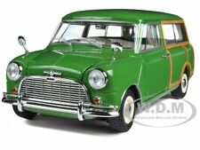 MORRIS MINI TRAVELLER GREEN 1/18 DIECAST CAR MODEL BY KYOSHO 08195