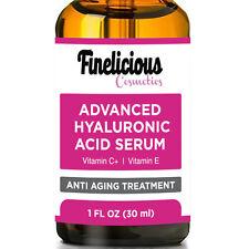 ORGANIC Hyaluronic Acid Serum For Face. 20% Vitamin C+ HA+ Vit. E