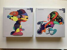 """KAWS x NGV Exclusive 2019 """"Stay Steady"""" & """"No One's Home"""" Jigsaw Puzzle Set NEW"""