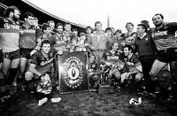 OLD LARGE RUGBY LEAGUE PHOTO, Parramatta Eels 1986 NSWRL Grand Final win 2