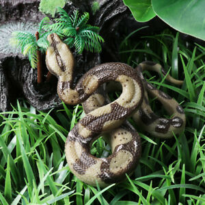 NEW Fake Realistic Snake Lifelike Real Scary Toy Prank Party Joke Halloween