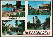 AD4343 Saluti da Alessandria - Vedute - Cartolina postale - Postcard