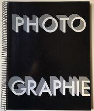 PHOTOGRAPHIE 1930 Arts et Metiers Graphiques Facsimile