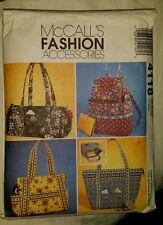McCalls Fashion accessories pattern # 4118  handbags