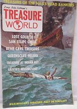 Treasure World Magazine July 1970 Hunting Lost Mines Gold Cache Buried