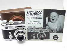 PERFEX  FIFTY FIVE 55 RANGEFINDER CAMERA USA METER  NICE  35mm 2669
