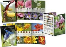 Z07 FRG Germany Stamps 2017 Artist Booklet All Series Flowers