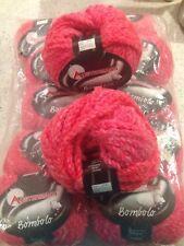 Austermann Yarn - Bombolo - Rose Pink - 12 Skeins - Wool Blend - Pussyhat