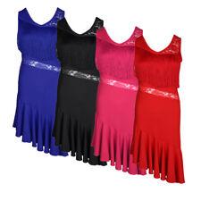Latin Dance Dress Up Tassel Samba Skirt Fancy Costume for Ballroom Tango