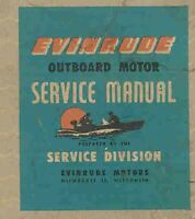 Evinrude Vintage outboard motor service repair shop manual 1949 to 1954