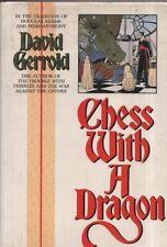 "DAVID GERROLD - ""CHESS WITH A DRAGON"" - SCIENCE FICTION - STAR TREK - HB (1987)"