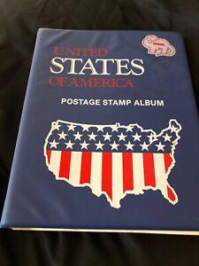 United States Postal Stamp Albulm
