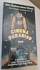 Cinema Paradiso Vhs 1989 Philippe Noiret Jacques Perrin Subtitled in English Wow