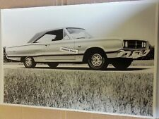 "12 By 18"" Black & White PICTURE of 1967 Dodge Coronet ""426"" 2 door hardtop # 2"
