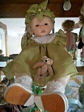 Ruth Treffeisen Porcelain artist doll .Piccolini .Baby. Rare. Mimi 2000