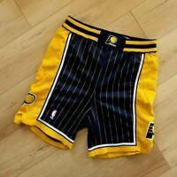 100% Authentic Dale Davis Pacers Vintage Champion Game Worn Shorts 40 XL 2XL