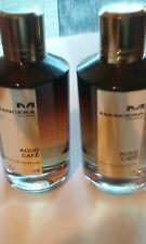 2 Flacons d' Eau de parfum mixte 120 ml AOUD CAFÉ Mancera Paris vaporisateur