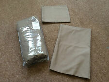 Unbranded Polyester Solid Pattern Fitted Sheets