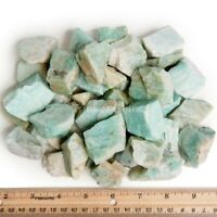 1000 Cts 100 % Natural Amazonite Rough Rocks from Madagascar Loose Gemstone Lot