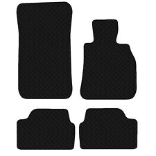 BMW 1 Series E87 2003 - 12 Black Floor Rubber Fully Tailored Car Mat 3mm 4pc Set