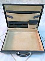 $650 TUMI hardside SLIM napa leather briefcase