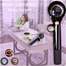 Espresso Coffee Maker Manual Pressure Coffee Machine Portable With Material ABS