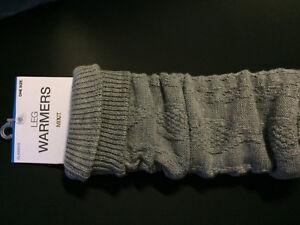 NWTClassics MIXIT Leg Warmers - Heather Gray - One SizeFit all - MSRP $16