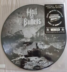 HAIL OF BULLETS - ...OF FROST AND WAR - LTD. HAND-NUMBERED PICTURE LP 500 COPIES