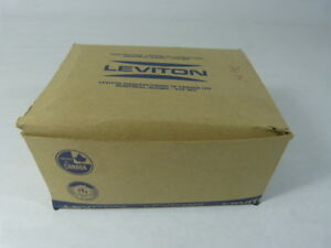 Leviton 85003/001 52-6713 Duplex Plate Brown Box of 25pcs. ! NEW !