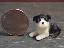Dollhouse Miniature Dog Puppy Pet 1:12 one inch scale  PUP103 Dollys Gallery F75