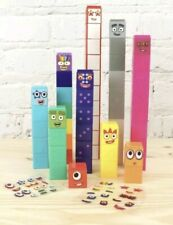 CBeebies Numberblocks ,1-10 Number Blocks. Fast delivery 100% GENUINE, cake dec