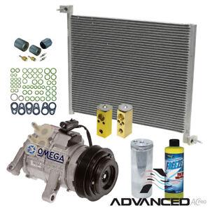 AC A/C  Compressor Condenser kit Fits: 2004 - 2006 Dodge Durango V6 3.7L V8 4.7L