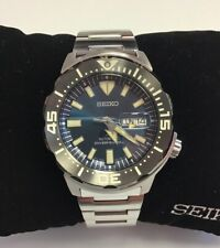 SEIKO PROSPEX Monster Stainless Steel Blue Dial Automatic WATCH SRPD25