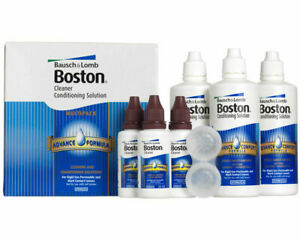 Bausch Lomb Boston Advance Hard RGP Contact Lens Solution Cleaner Conditioning.