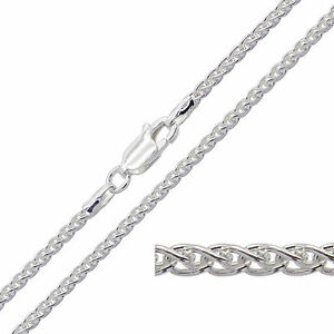 925 Sterling Silver SPIGA Chain Necklace 1.8mm