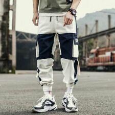 1 Pc Men Harem Joggers Cargo Streetwear Hip Hop Harajuku mode pantaloon pants