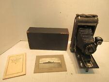 Kodak Junior Autographic Camera No. 1A Folding Camera With Instructions